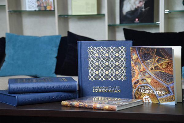 """10 Reasons to Visit Uzbekistan"" book presented in Tashkent"