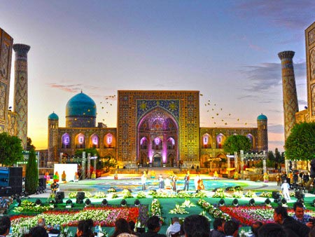 """Sharq Taronalari"" 10th International Musical Festival – Aug 25-30 – Samarkand"
